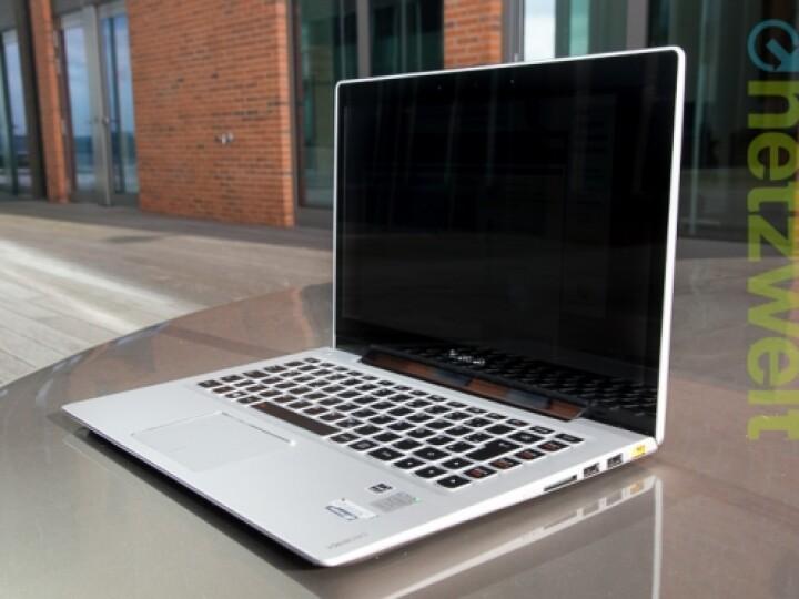 Lenovo IdeaPad U330 Touch: Sieht auf den ersten, flüchtigen Blick aus wie aus Cupertino. Kostet aber nur halb so viel wie ein Macbook.