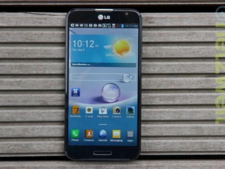 Das LG Optimus G Pro stellt sich dem netzwelt-Test.