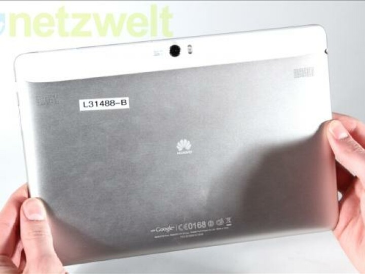 Für Schnappschüsse ausreichend: Die Hauptkamera des MediaPad liefert eine Auflösung von acht Megapixeln.