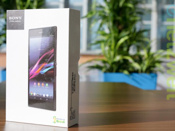 Das Sony Xperia Z Ultra ist in der netzwelt-Redaktion eingetroffen.