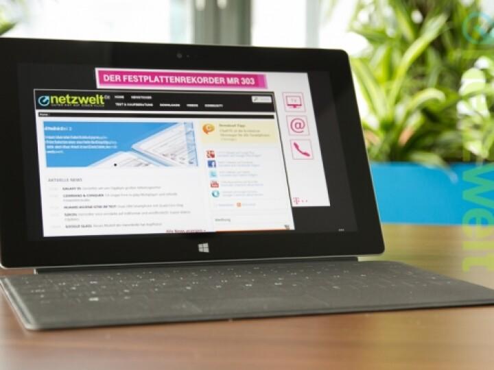 Surface 2 kommt ohne das Kürzel RT im Namen aus.