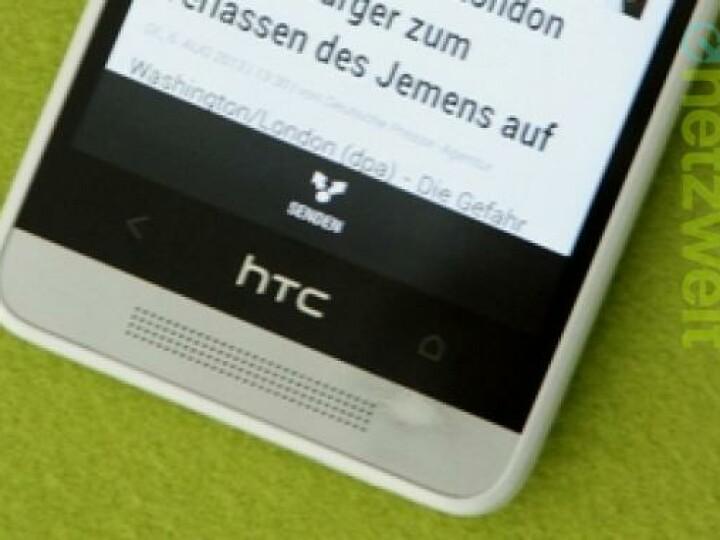 Nach dem Test nicht mehr makellos das HTC One Mini.