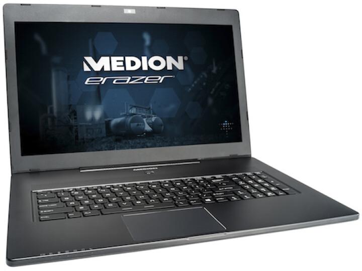 1.200 Euro steht auf dem Preisschild, leistungsfähige Komponenten sind im Inneren verbaut: Medion Erazer X7611.