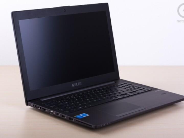 Asus B551L: edle Erscheinung mit mattem Bildschirm.