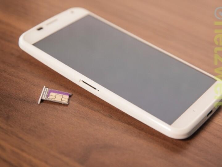 Das Motorola Moto X benötigt eine Nano-SIM-Karte.