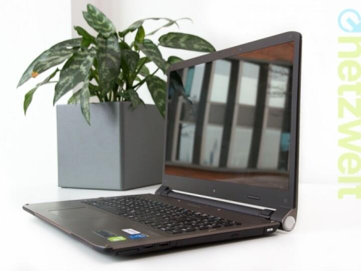 """Für die Multimedia-Wiedergabe ausgelegt: Medion Akoya S6615T, das auch als """"The Touch 300"""" bezeichnet wird."""