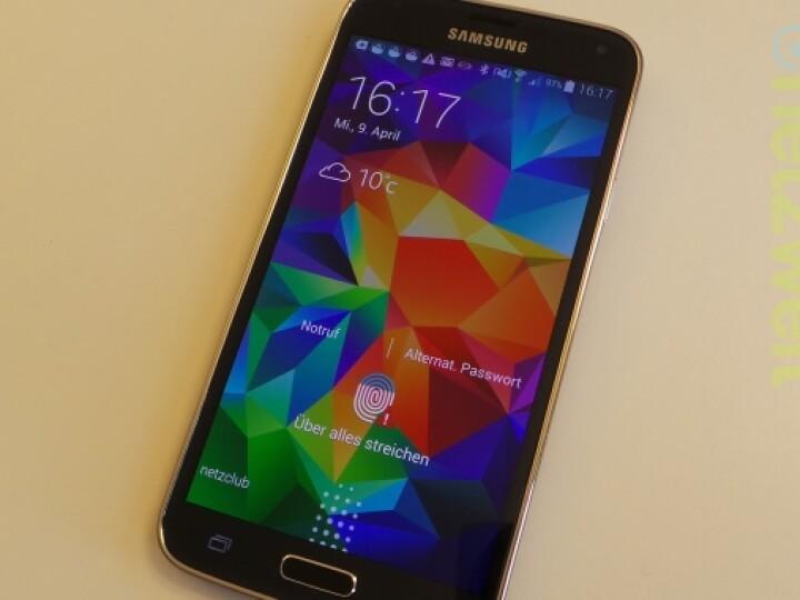 Solche Fehler produziert der Fingerabdruckscanner des Galaxy S5 leider allzu oft.