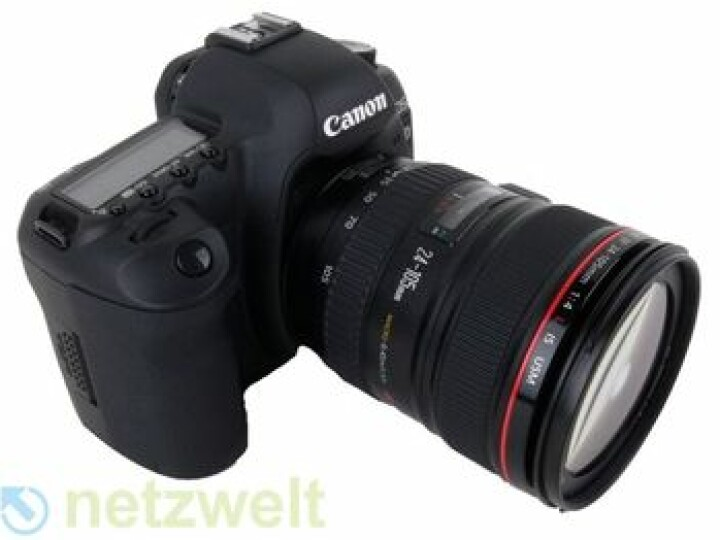 In dieser Spiegelreflexkamera versteckt sich eine Videokamera.
