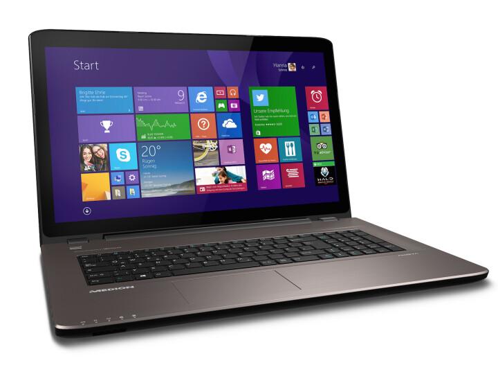 Laptop Mit Mattem Display