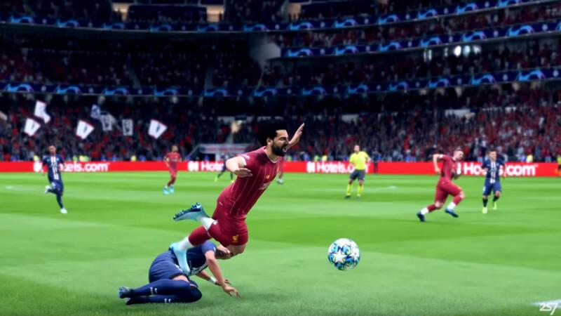 FIFA 20: Schwalbe von Salah sorgt für Spaß und Verwunderung