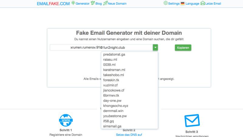 b594e3b7709cf0 Temporäre E-Mail-Adressen im Test: Die besten Trashmail-Anbieter ...