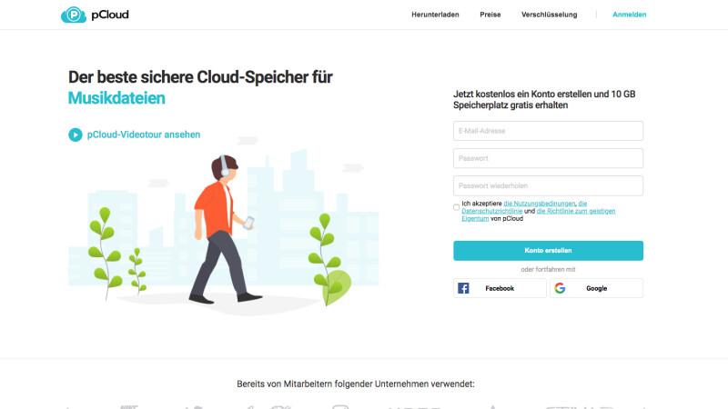 pCloud im Test: Erfahrungen mit dem verschlüsselten Cloud-Speicher