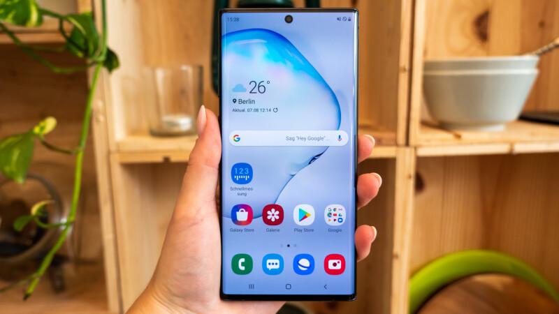 Samsung Galaxy Note 10+ (5G) im Test: Eine nette Geste (für den S-Pen)