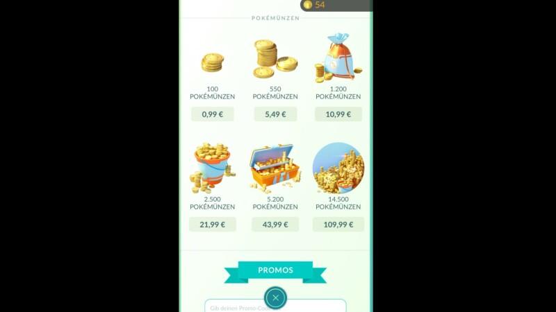 Pokémon Go Der Shop übersicht Aller Items Mit Kosten Netzwelt