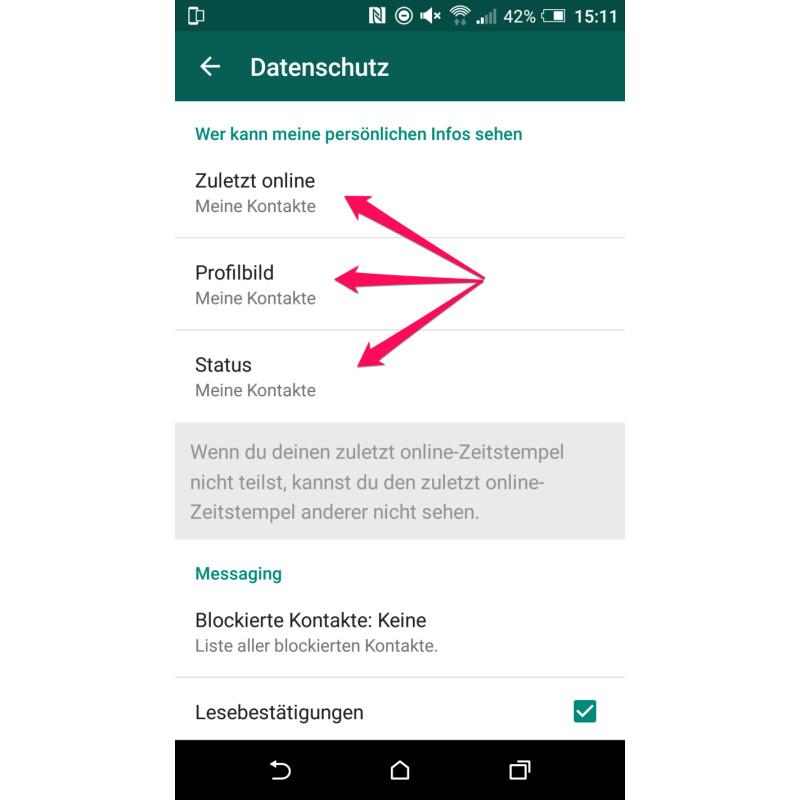 Whatsapp So Verhindert Ihr Dass Fremde Telefonnummer Und