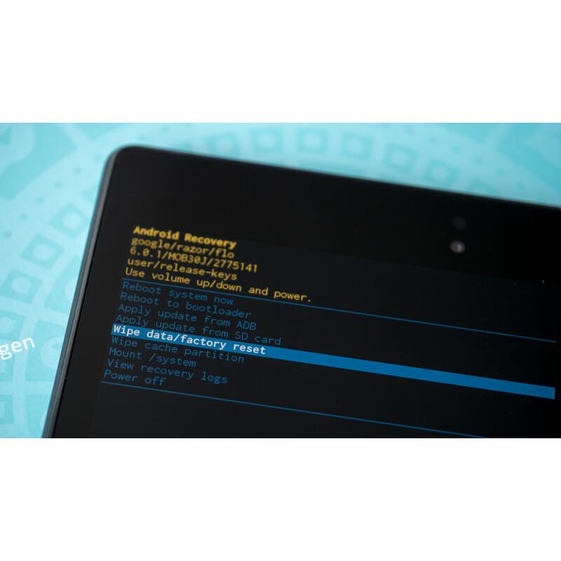Android: So setzt ihr euer Smartphone auf Werkseinstellungen zurück