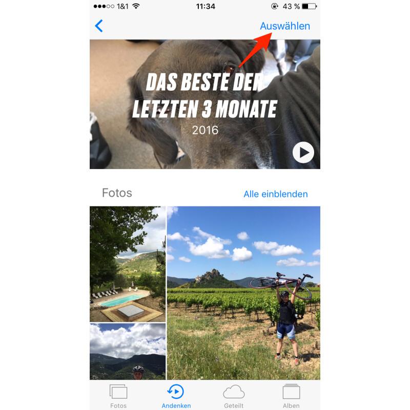 Apple Ios So Erstellt Ihr Personalisierte Diashows Netzwelt