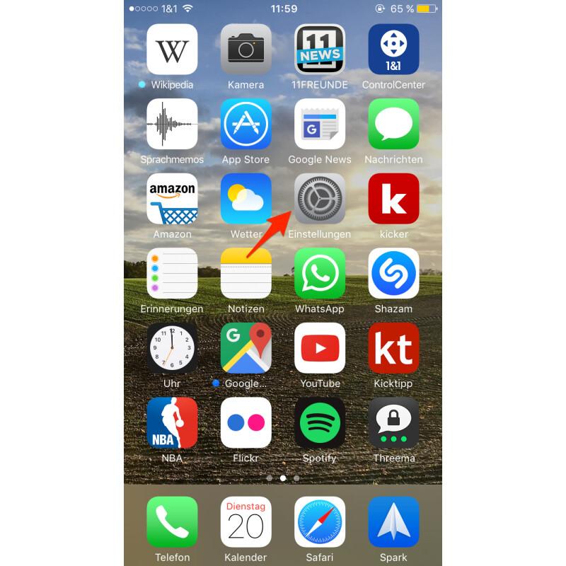 1bf9284f iPhone: Telefonnummer bei ausgehenden Anrufen unterdrücken - NETZWELT