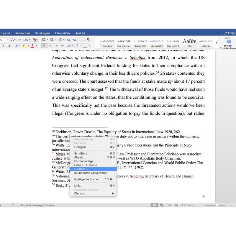 Word Fußnoten Formatieren Word 2010 Klammer Um