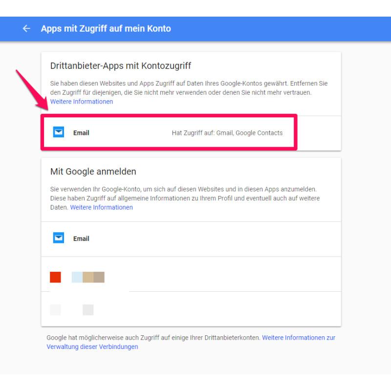 Gmail So Verwaltet Ihr Die Zugriffsrechte Von Drittanbieter