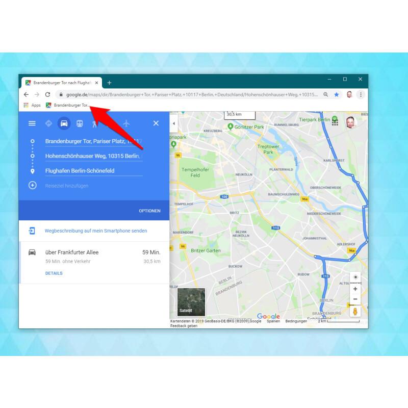 Google Maps: So könnt ihr eine Route speichern - NETZWELT on