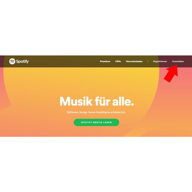 Spotify Zahlungsmethode