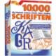 10.000 Schriften Logo