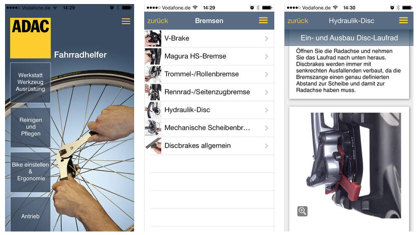 die besten navi apps f rs fahrrad netzwelt. Black Bedroom Furniture Sets. Home Design Ideas