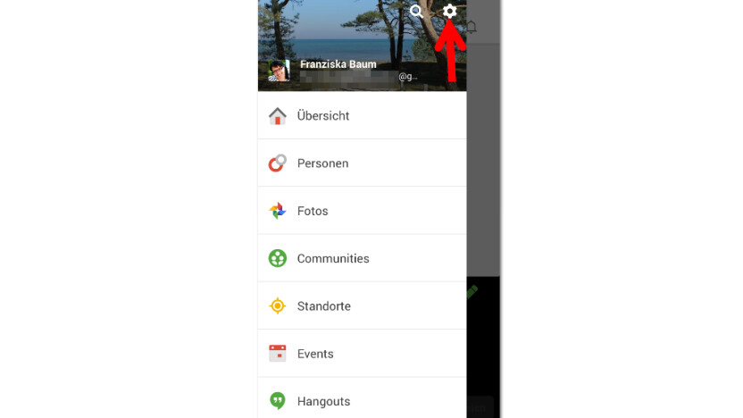 how to change google plus profile picture on ipad