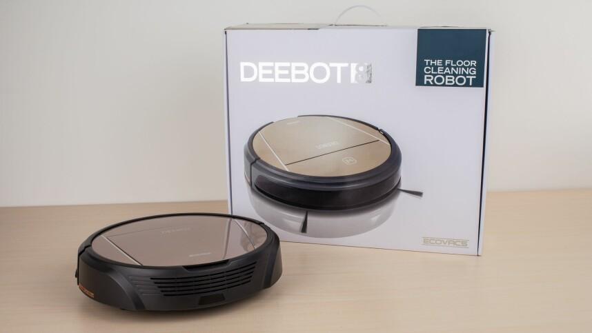 deebot 8 im test staubsauger roboter mit wischfunktion netzwelt. Black Bedroom Furniture Sets. Home Design Ideas