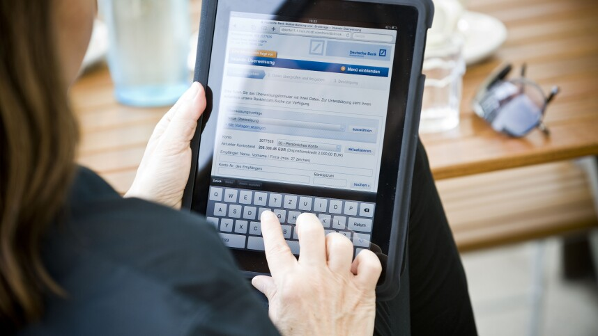 wie lange dauert online banking
