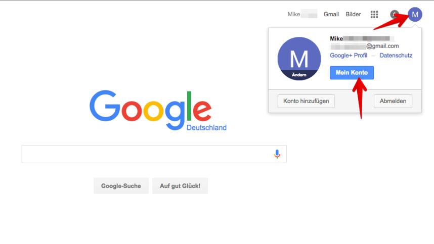 gmail telefonnummer ändern