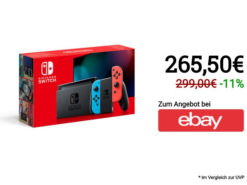 Black Friday: Nintendo Switch günstig kaufen - Angebote im Überblick