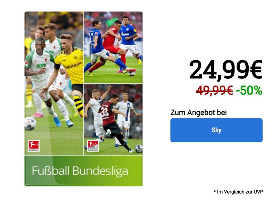 Angebot Sky Bundesliga