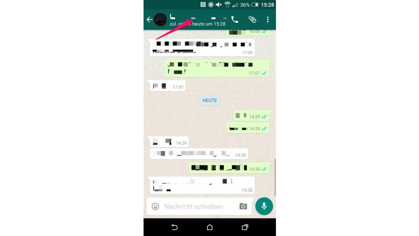 Whatsapp stumm schalten was sieht der andere