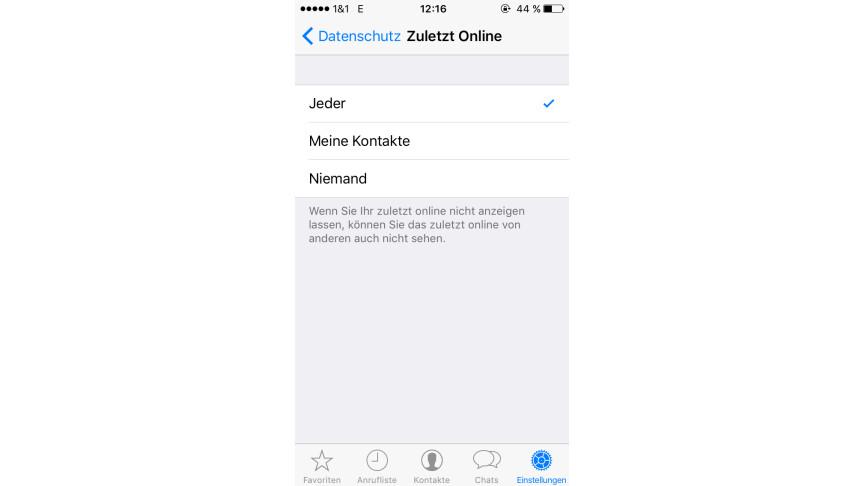 Whatsapp So Deaktiviert Ihr Den Zuletzt Online Status