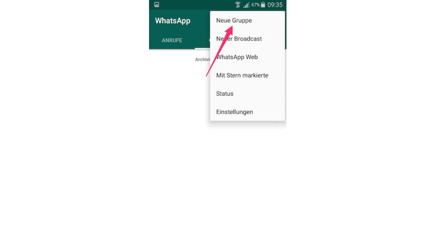 Kontakt in whatsapp blockiert
