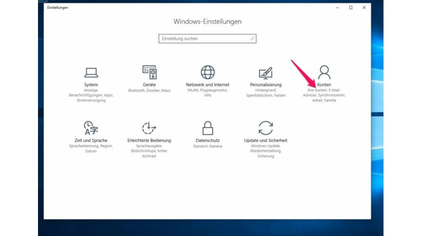 Windows Hello Aktivieren