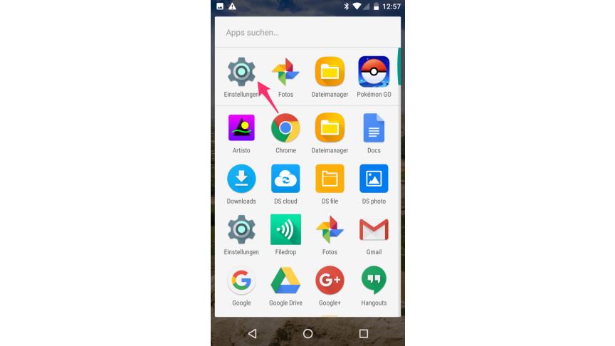 Android apps immer im hintergrund