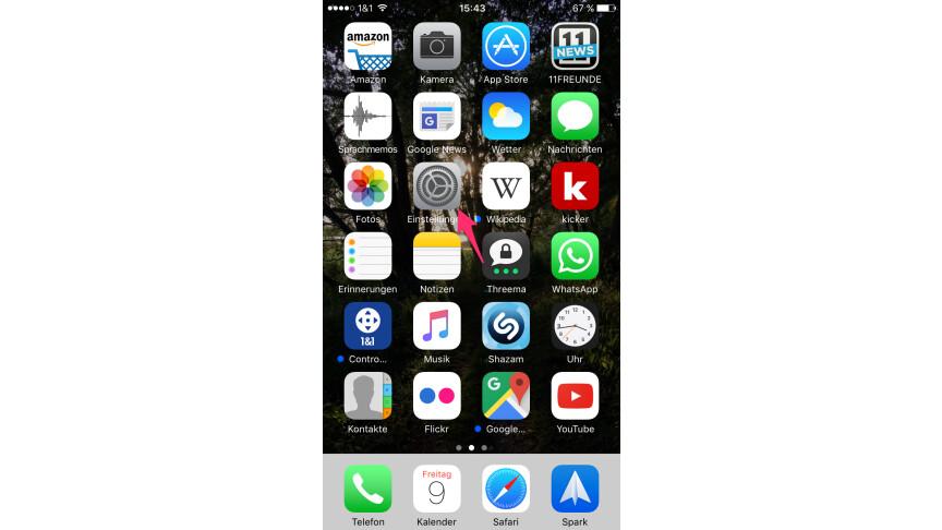 iphone volumen überwachen