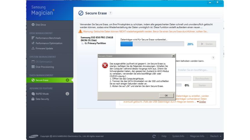 SSD formatieren: So löscht ihr eure Daten sicher