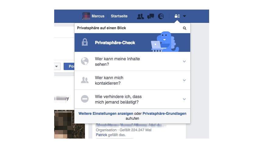 kann man sehen wer auf facebook profil war