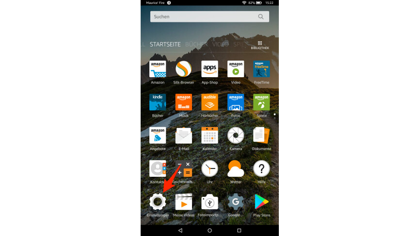Amazon Fire Tablet: Google Play Store nachinstallieren
