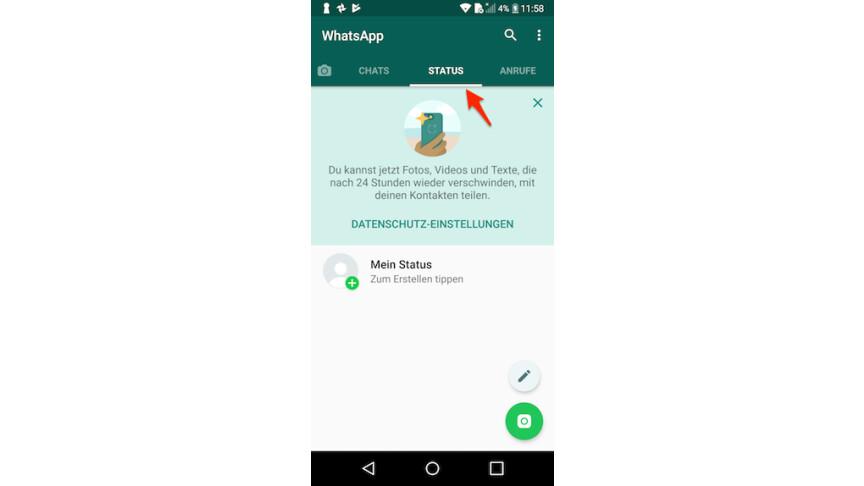 Whatsapp So Erstellt Ihr Einen Status Netzwelt