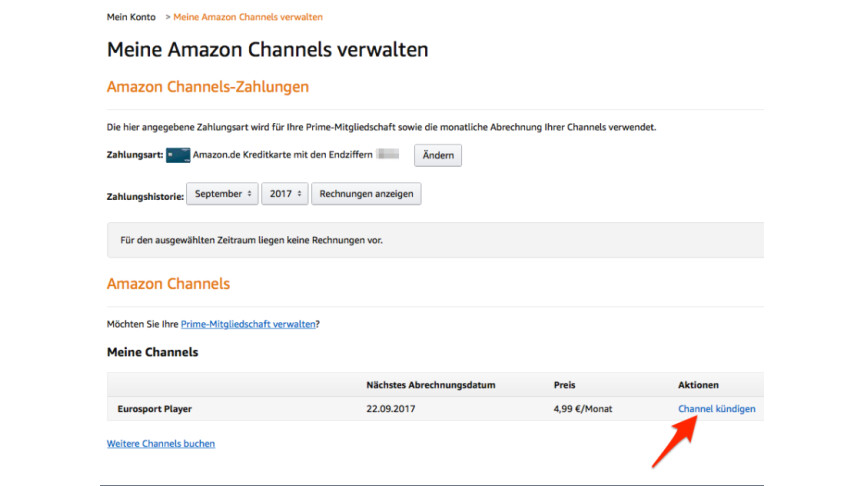 Amazon Eurosport Kündigen