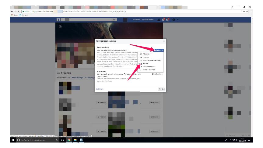 facebook ist jetzt mit befreundet anzeigen