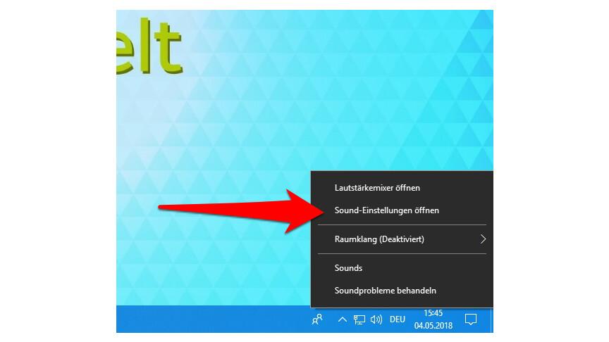 Windows 10: Soundprobleme beheben - so geht's