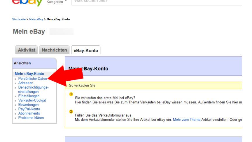 Ebay So Schutzt Ihr Euer Konto Mit Einer Zwei Faktor Authentifizierung Netzwelt