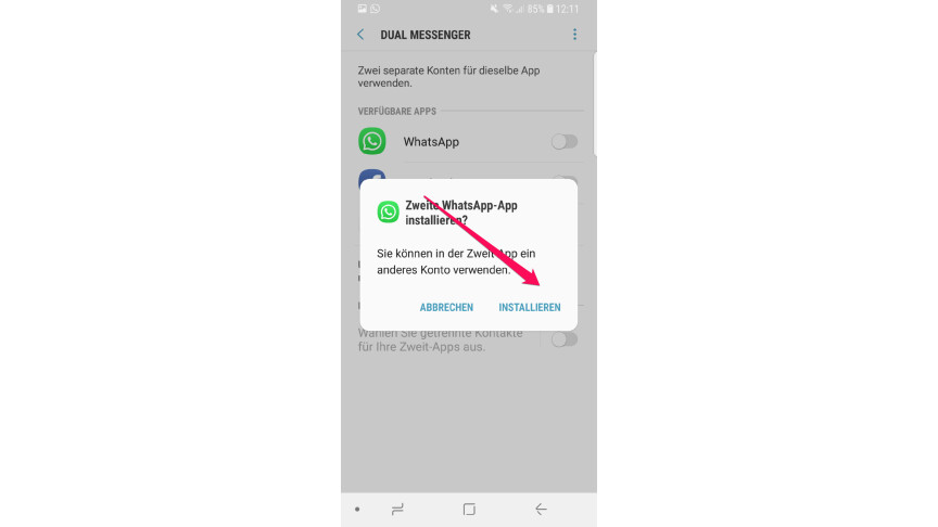 2 whatsapp konten