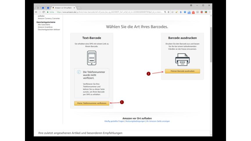 ab4d77cf5ac778 Amazon: So ladet ihr euer Amazon-Konto per Bargeldzahlung auf - NETZWELT